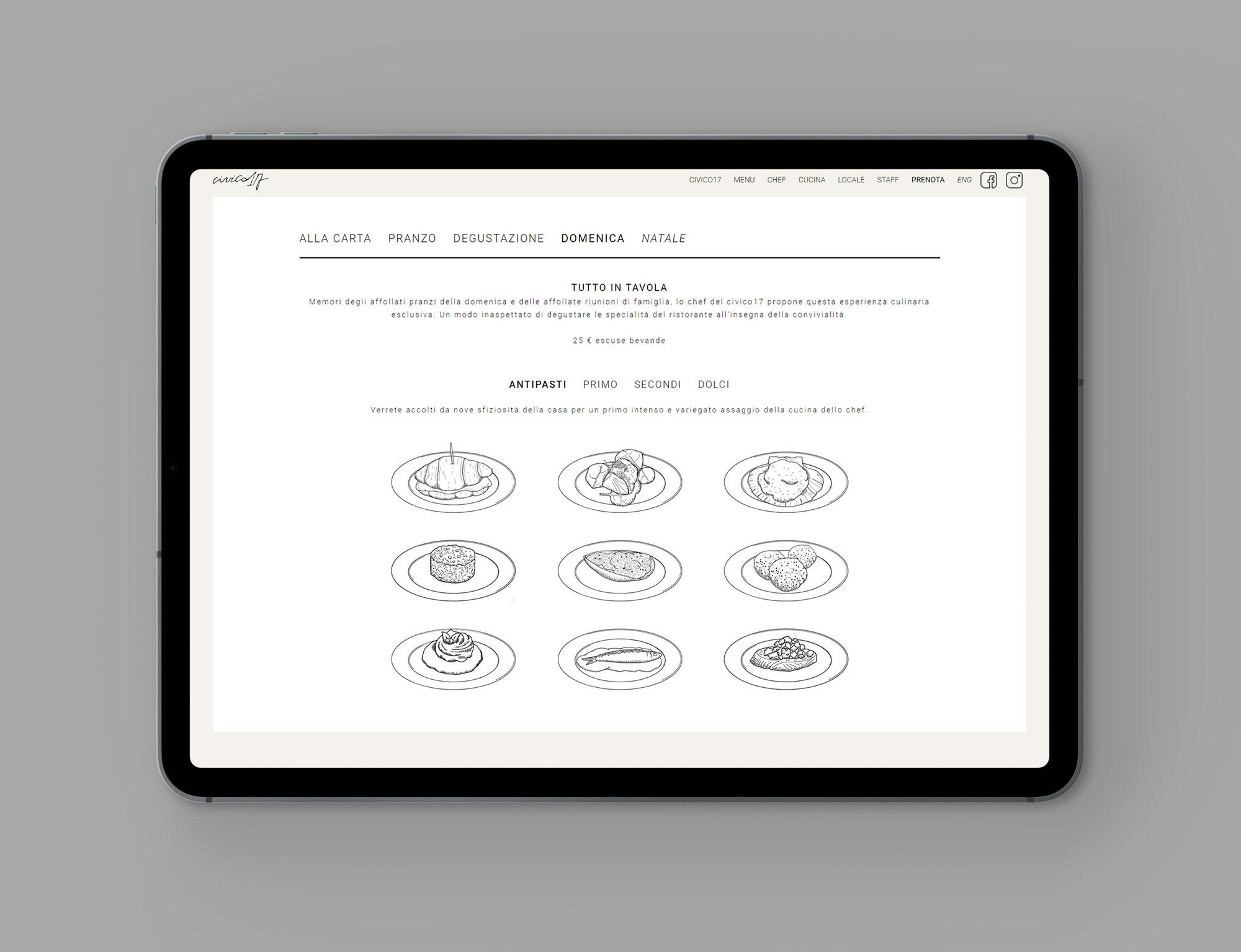Civico17 company website