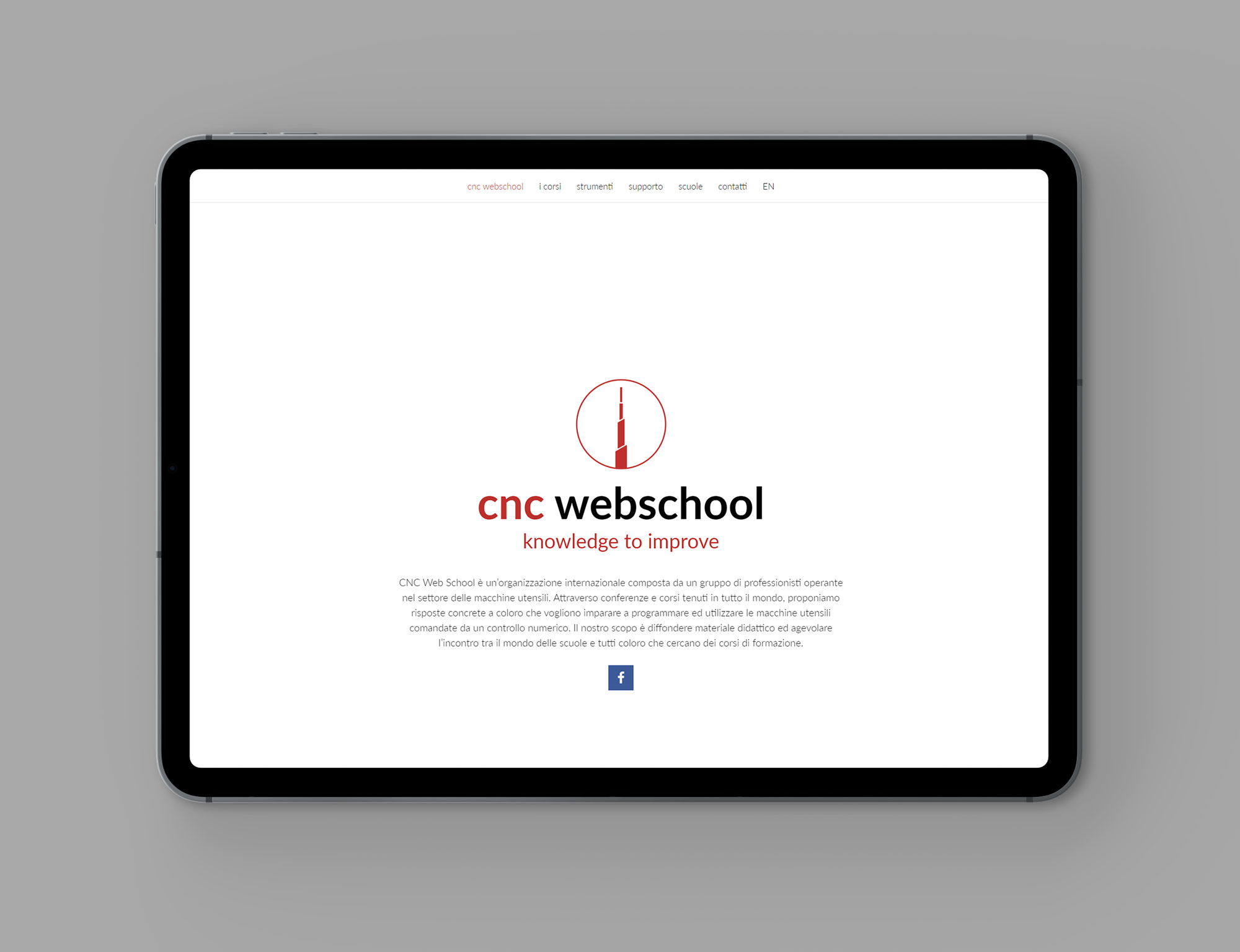 coordinated image cnc webschool, graphic and comunication