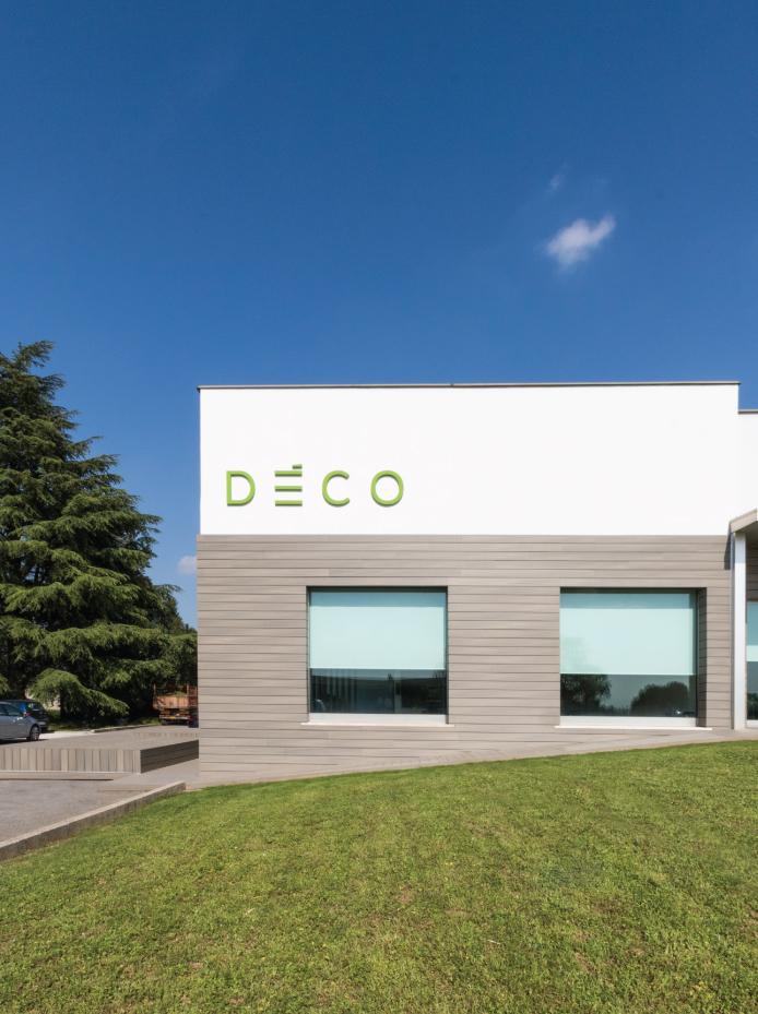 uffici e logistica per Deco, architettura