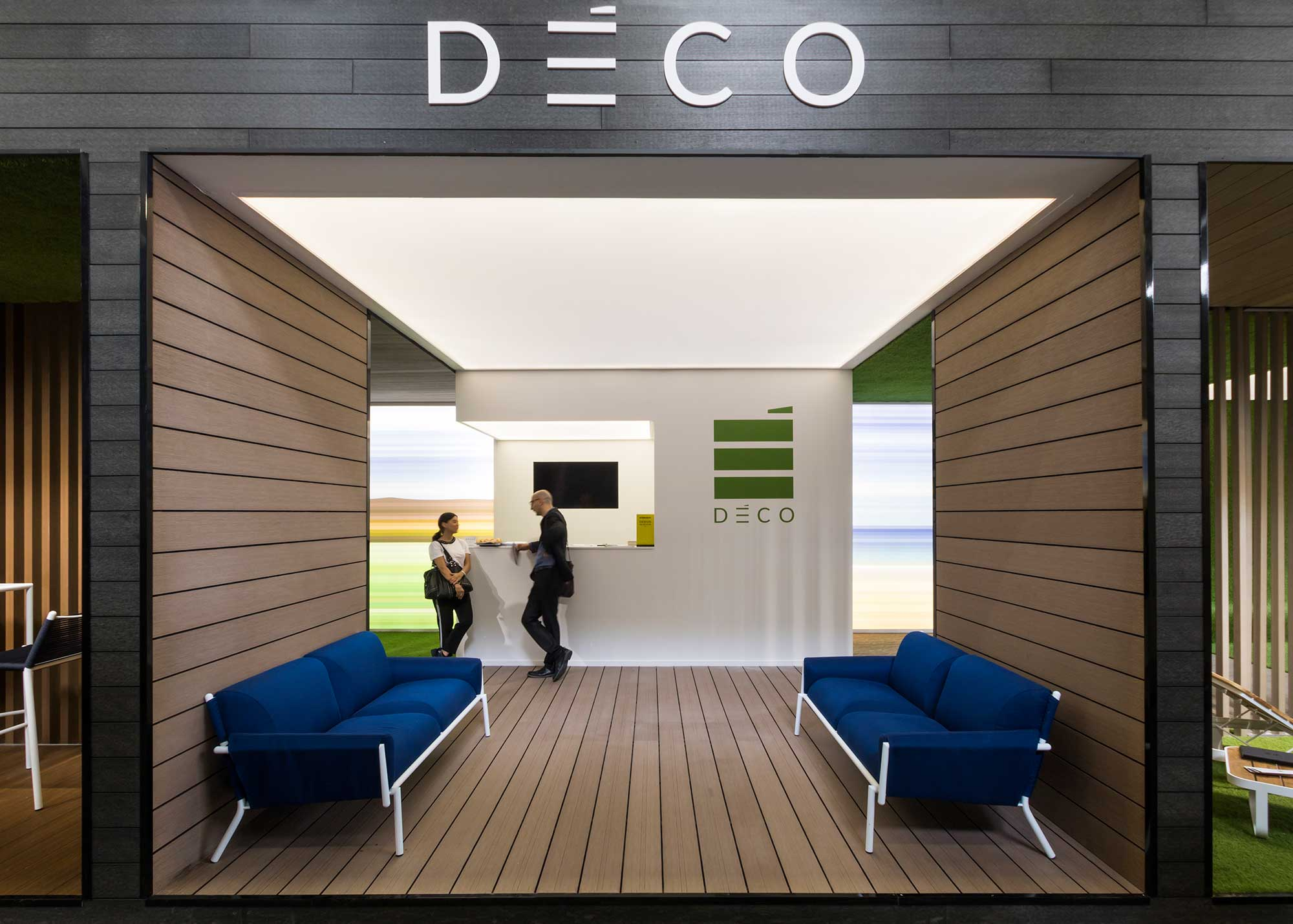 Stand Cersaie Rooms Deco, architecture