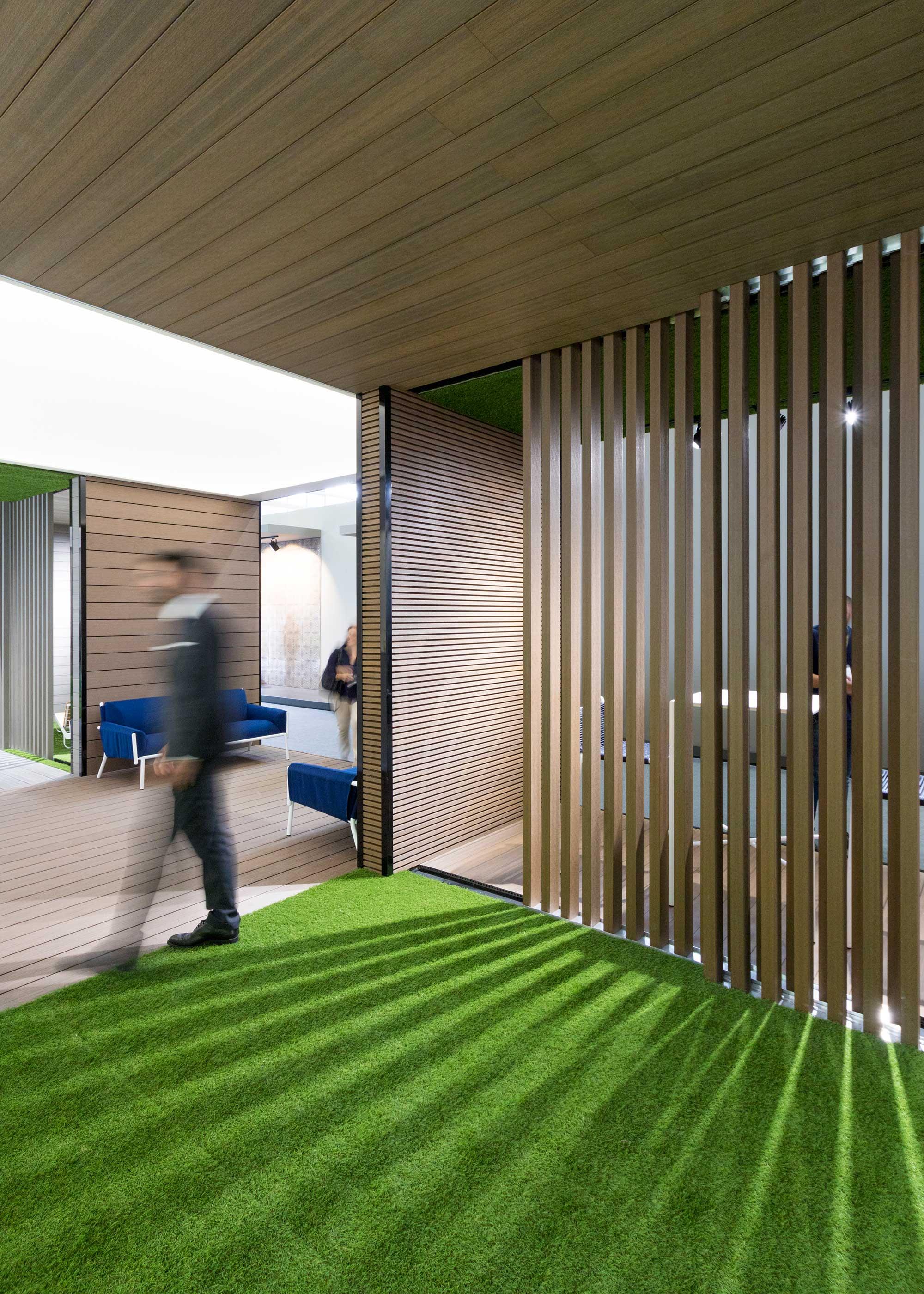 Stand Cersaie Rooms Deco, architettura