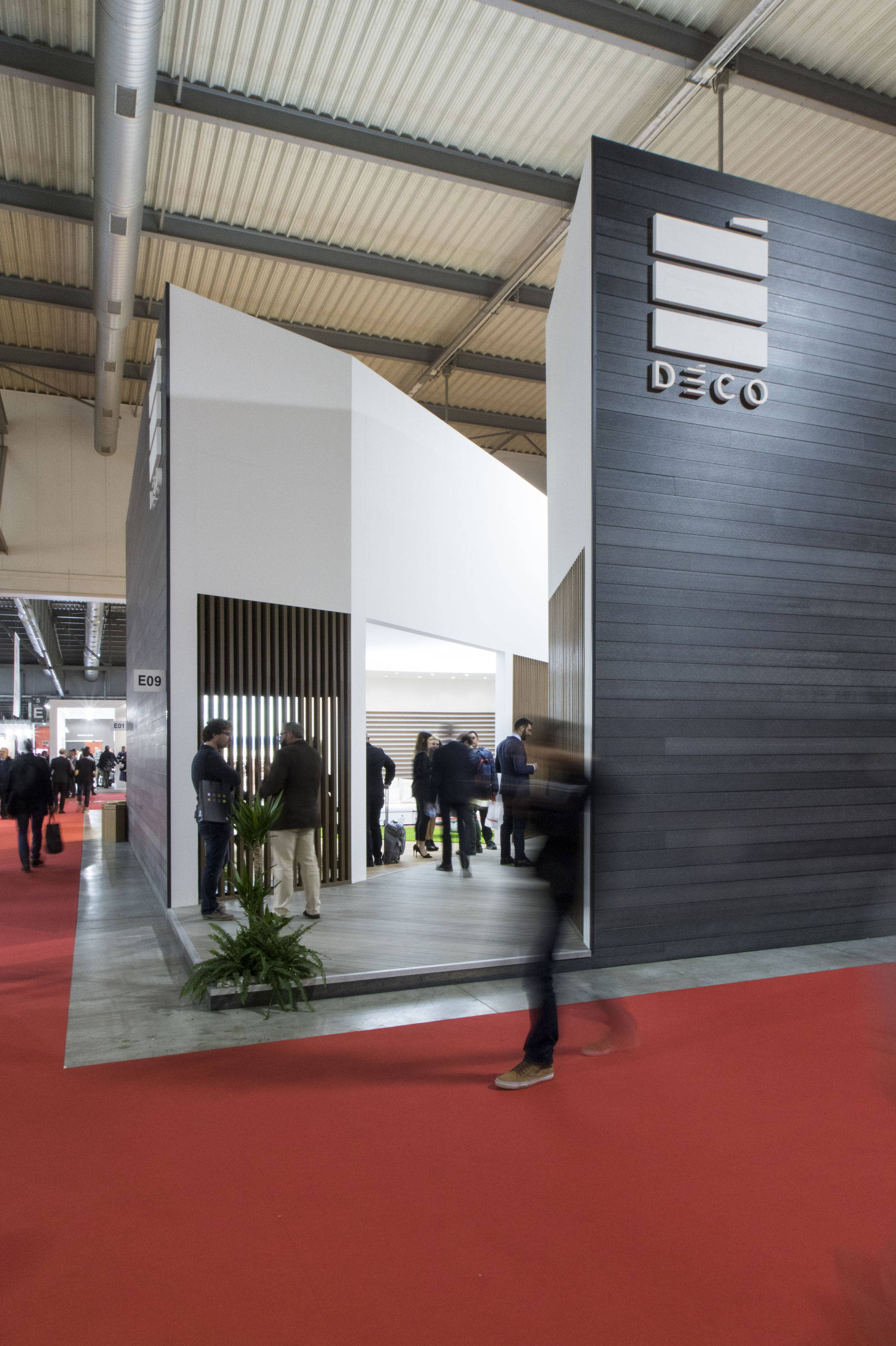 Stand Made Box Deco, architettura