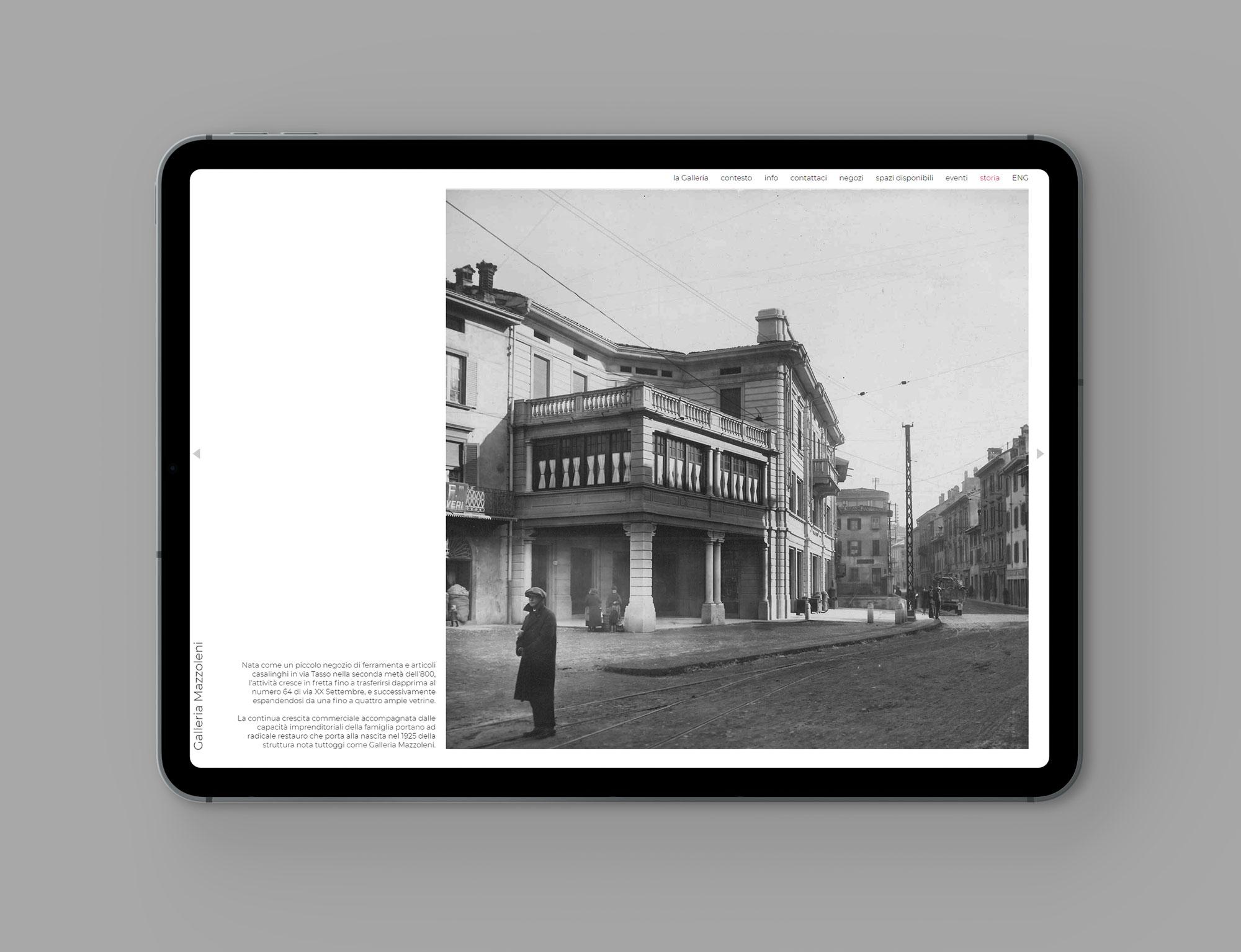 galleria Mazzoleni, grafica e comunicazione