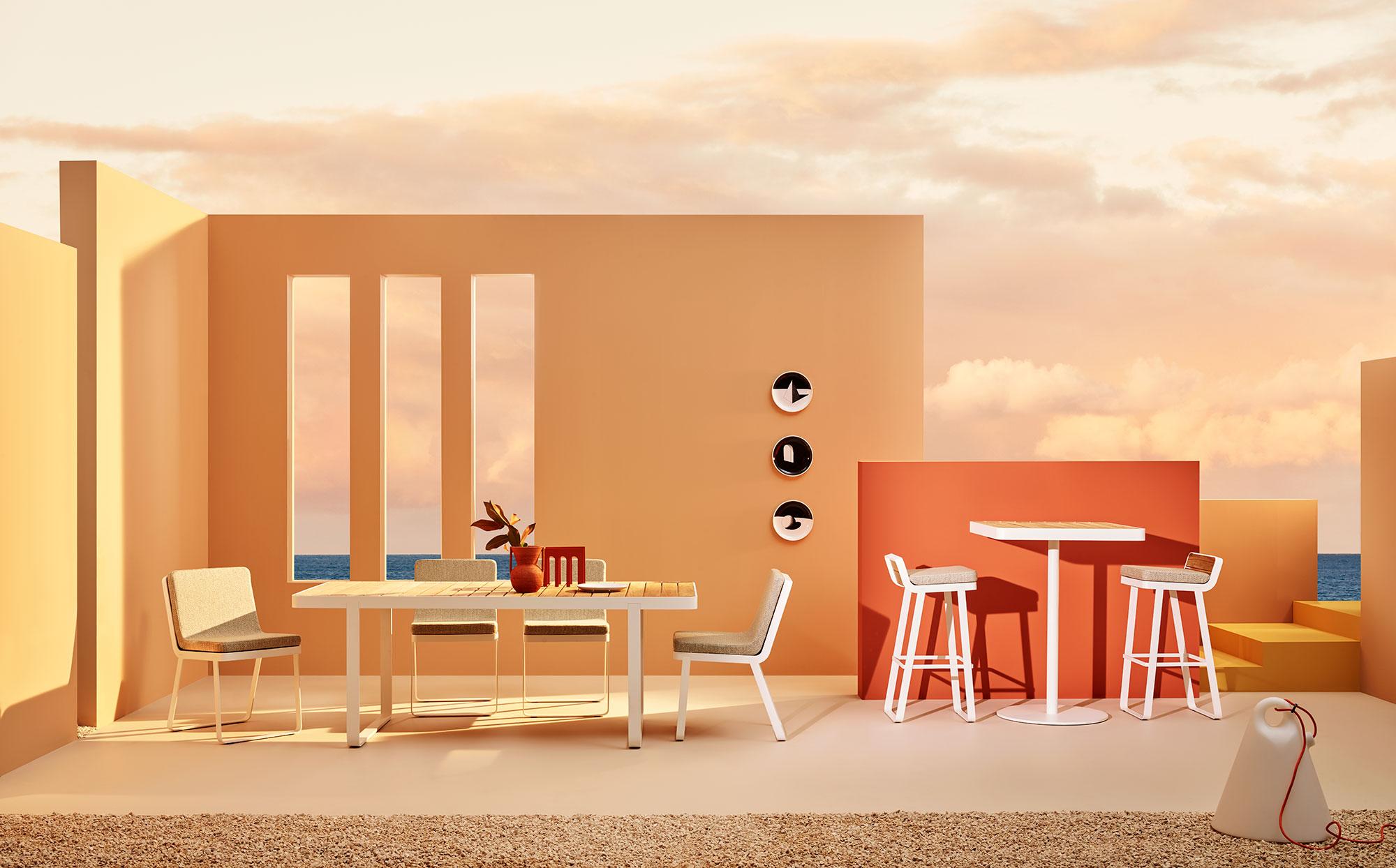 Sedia Lounge Makemake, sedia lounge da esterno/Makemake Lounge Chair, outdoor lounge chair