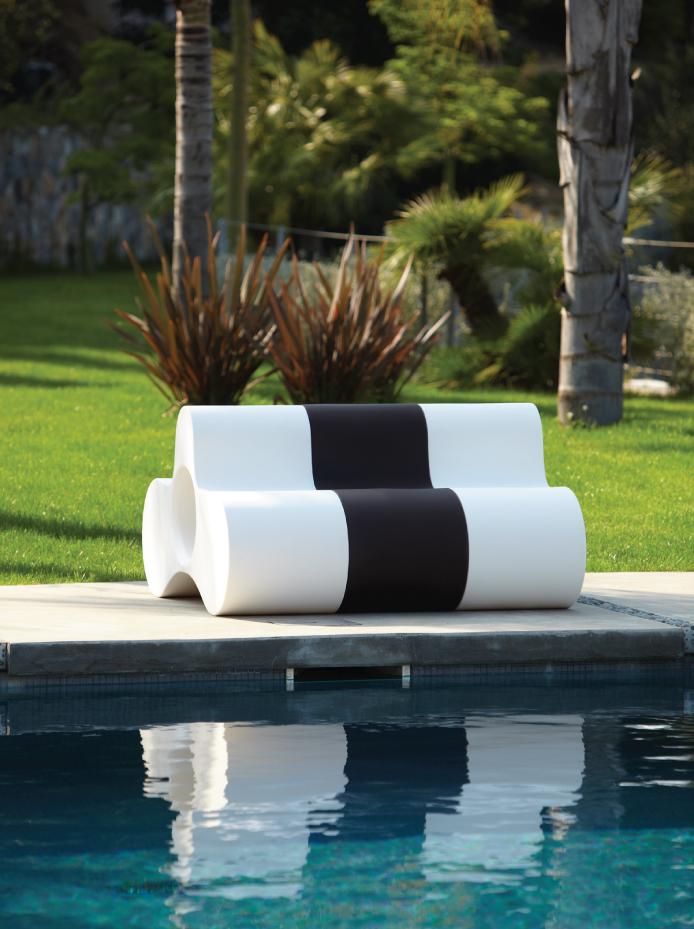 seduta,tavolo modulare Wheely per Slide, design