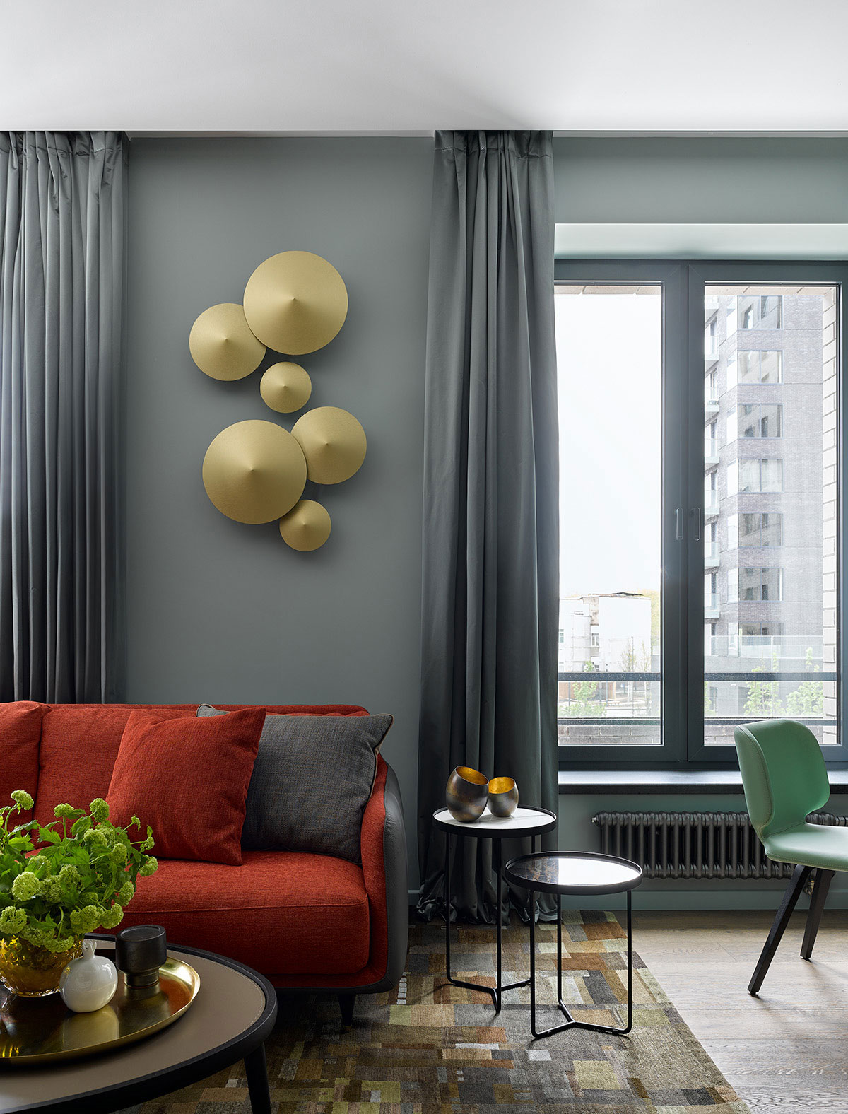 lampade da parete Faya per Morosini, design
